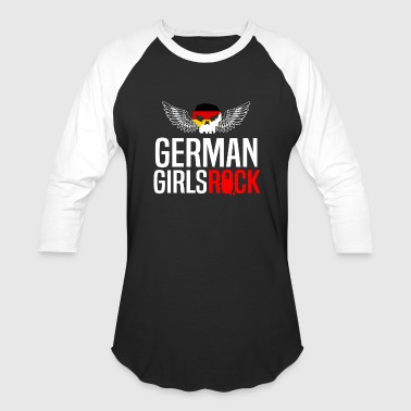 GERMAN GIRLS ROCK - Baseball T-Shirt