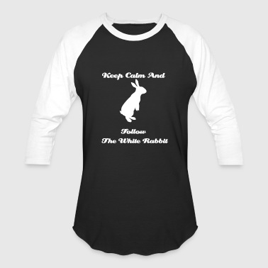 White Rabbit T-shirt - Baseball T-Shirt