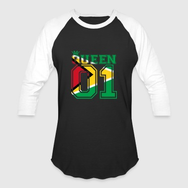 partner land queen 01 princess Guyana - Baseball T-Shirt