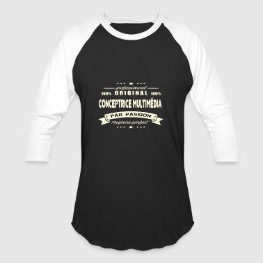 Original Multimedia Designer - Baseball T-Shirt