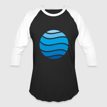 water - Baseball T-Shirt