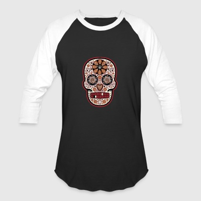 Devil's Food Decadence w Calavera Cream Frosting - Baseball T-Shirt