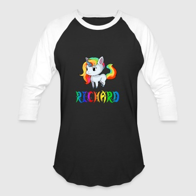 Richard Unicorn - Baseball T-Shirt