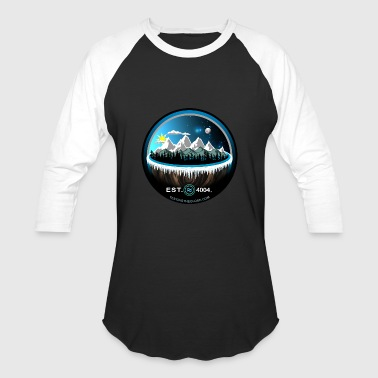 Flat Earth EST 4004 Shirt - Baseball T-Shirt