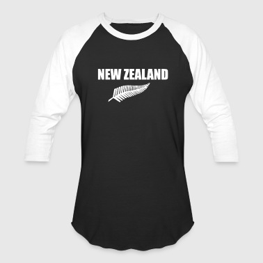 New Zealand - Baseball T-Shirt