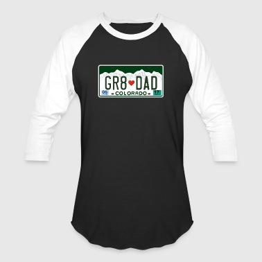Great Dad - Happy Father's Day - Colorado State - Baseball T-Shirt