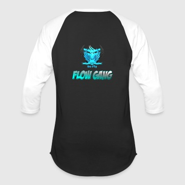 Flow Gang With So Fly Official Logo - Baseball T-Shirt