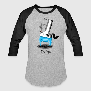 Free Ranged Bongs: Hoodie - Baseball T-Shirt