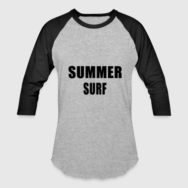 Summer Surf - Baseball T-Shirt