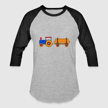 toy tractor with trailer - Baseball T-Shirt