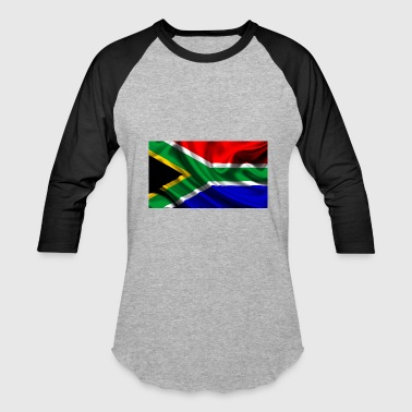 Proud South African South-African-Flag - Baseball T-Shirt