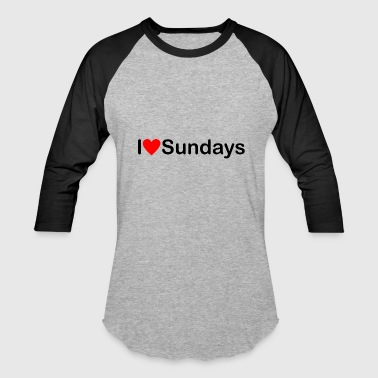 Sunday - Baseball T-Shirt
