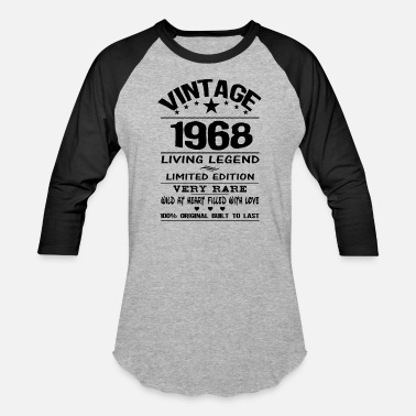 Uk VINTAGE 1968 - Baseball T-Shirt