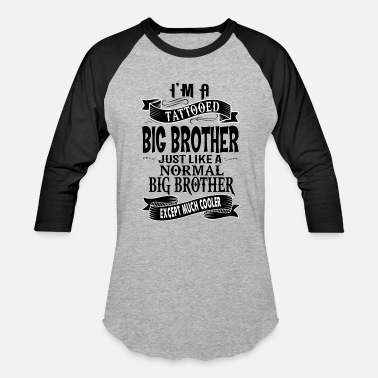 Brother TATTOOED BIG BROTHER - Baseball T-Shirt