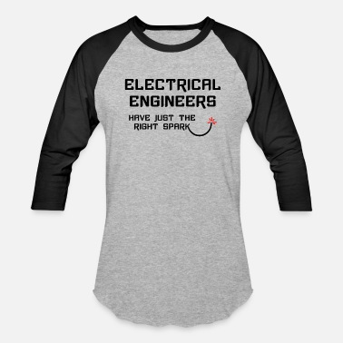 Electrical Electrical Engineer Right Spark - Baseball T-Shirt