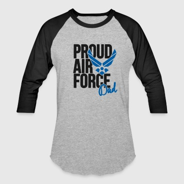 Air Force Dad Army Father - Baseball T-Shirt