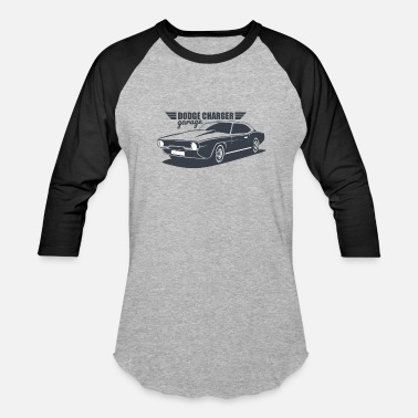 Dodge Rt DODGE CHARGER CLASSIC CAR - Baseball T-Shirt