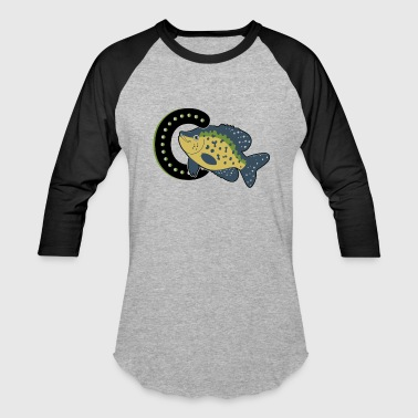 Crappie Fishing Is For Crappie Fish Shirt - Baseball T-Shirt