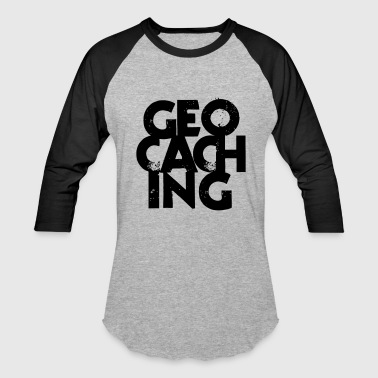 Geocaching - Baseball T-Shirt