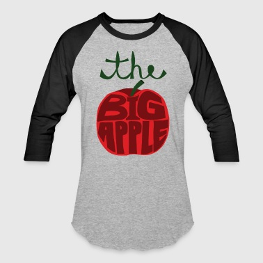 the big apple - Baseball T-Shirt