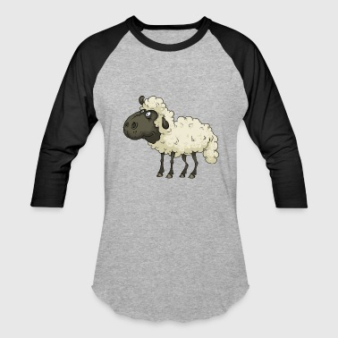 Sheep Cartoon Sheep Comic Sheep - Baseball T-Shirt