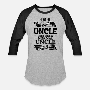 Tattooed Uncle TATTOOED UNCLE - Baseball T-Shirt