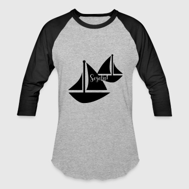 Sailing Boat - Baseball T-Shirt