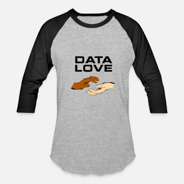 Data Preservation DATA LOVE - Baseball T-Shirt