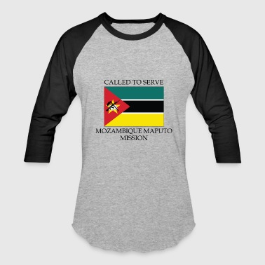 Maputo Mozambique Maputo Mission Called to Serve Flag - Baseball T-Shirt