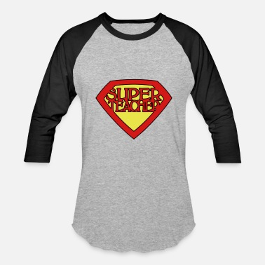 Super super teacher - Baseball T-Shirt