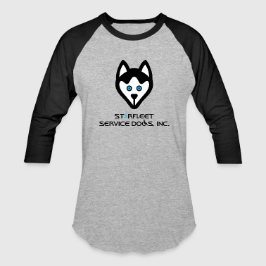 Starfleet Service Dogs, Inc. - Baseball T-Shirt