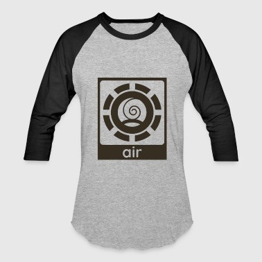 Air Element Design Nature Gift Idea - Baseball T-Shirt