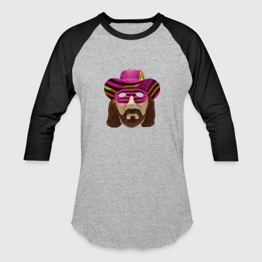 Macho Man Mask - Baseball T-Shirt