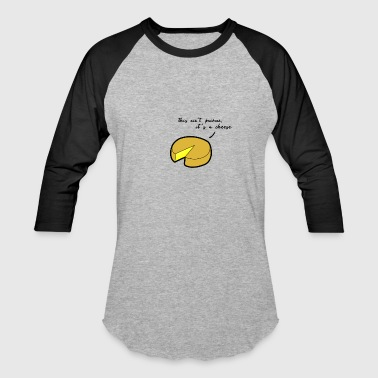 Cheese Cheese - Baseball T-Shirt