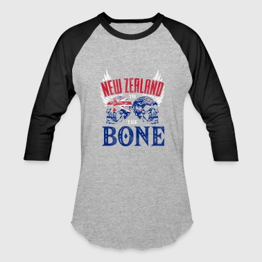New Zealand To The Bone - Baseball T-Shirt