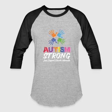 Unicorn Love, Support, Educate, Autism Strong. - Baseball T-Shirt
