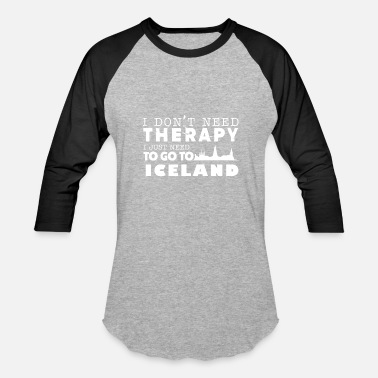 Iceland Therapy Iceland Therapy Shirt - Baseball T-Shirt