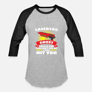 Ghost King Laser Tag Ghost - Baseball T-Shirt