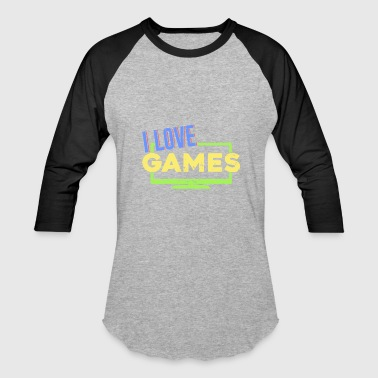 Clan Games Gamer Gaming Geek Clan Nerd - Baseball T-Shirt