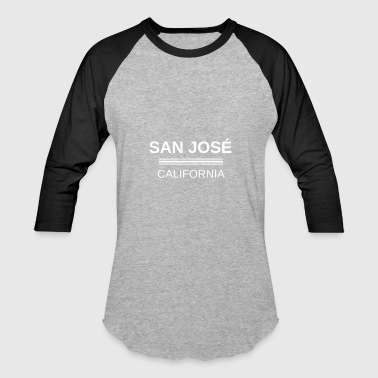 SJ Tee, San José T-Shirt, Gift, idea, City, Califo - Baseball T-Shirt