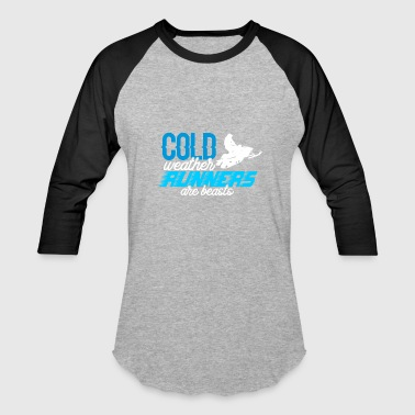 Cold weather runners - Baseball T-Shirt