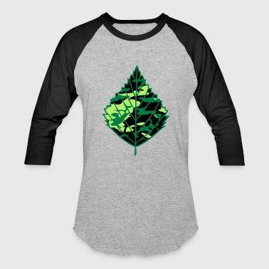Soldiers camouflage army soldier war army birch leaf tree p - Baseball T-Shirt