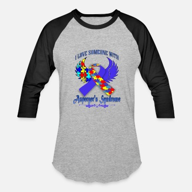 Asperger Syndrome asperger's syndrome - Baseball T-Shirt