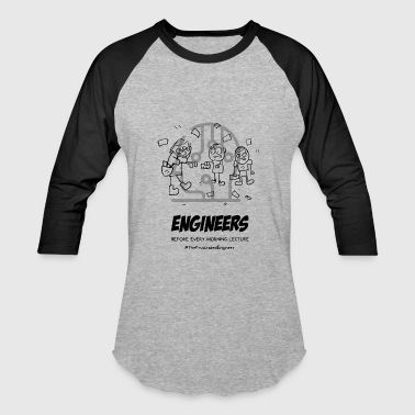 frustrated engineer - Baseball T-Shirt