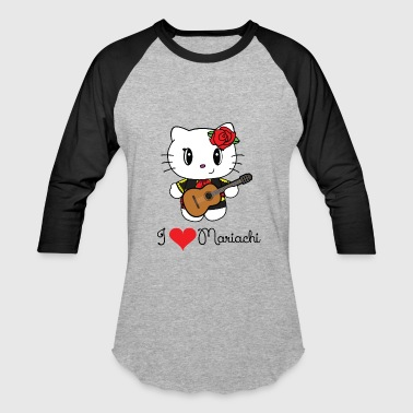 I Heart Mariachi - Baseball T-Shirt