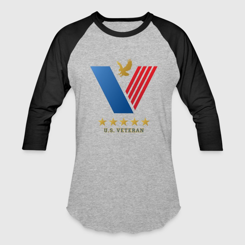 U.S. VETERANS...Thank you for your Service! - Baseball T-Shirt