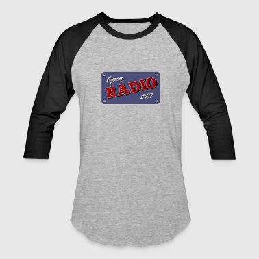 Open Radio 24/7 - Baseball T-Shirt