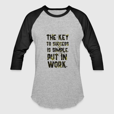 THE KEY - Baseball T-Shirt