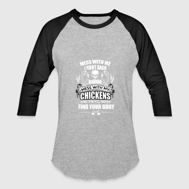 Killer Chicken - Murder and Fight - Baseball T-Shirt