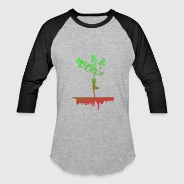 Free Your Mind YOGA FREE YOUR MIND TREE - Baseball T-Shirt